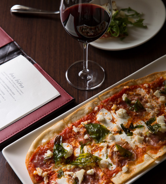 Wine & Flatbreads at Paramour