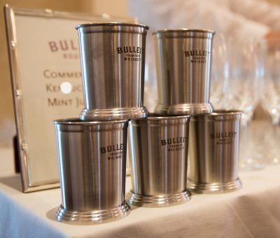 Bulleit Bourbon Mint Julep Cups