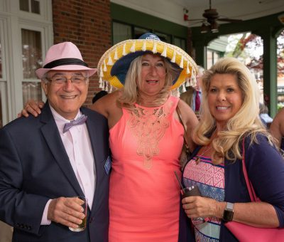 Bob Madonna (Surrey President & CEO), Christina Wagoner (Surrey Sr Dir of Finance & HR), Tammy Coppola