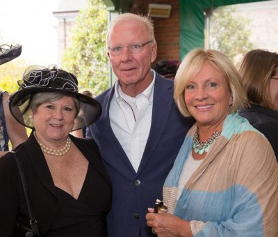Nancy Campbell (Wayne Art Center, Executive Director), Keith & Deb Craley