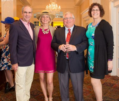 Tom & Carol O'Brien, John (President of Radnor Educational Foundation) & Marie Reilly