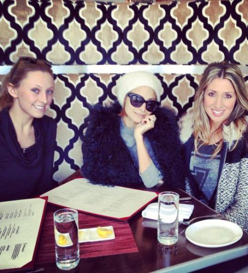 Nicole Richie lunches at Paramour