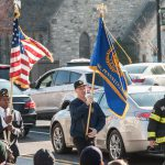 The American Legion Bateman Gallagher Post 668 paraded with Santa on Saturday