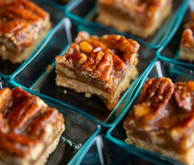 Pecan & Toffee Bars
