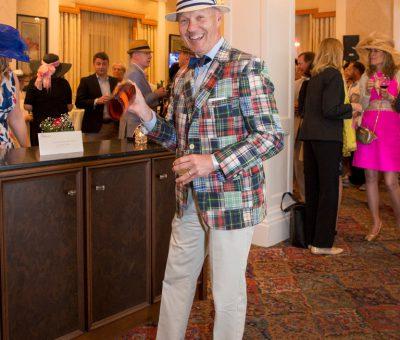 Men's Best Dressed 3rd Place Winner Mercer Craft