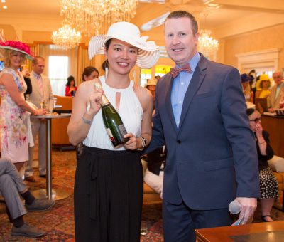 Women's Best Dressed 3rd Place Winner Li Liu