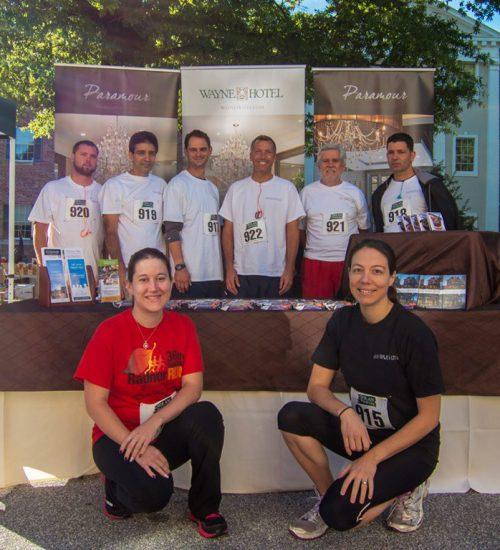 2014 Main Line Chamber Foundation 5K Run - Wayne Hotel Team