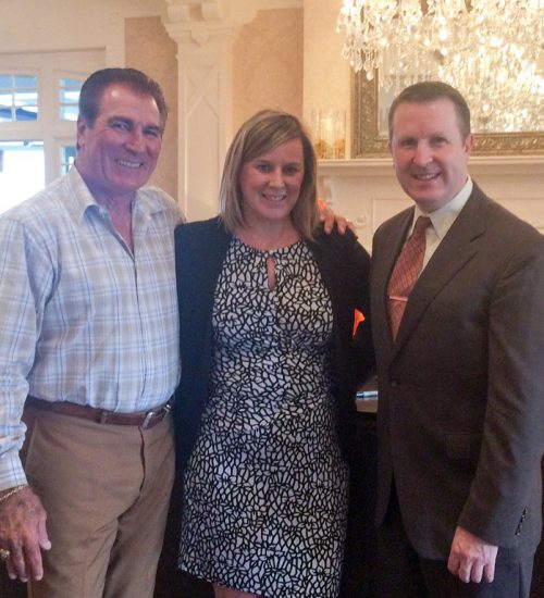 Vince Papale visits the Wayne Hotel and Paramour