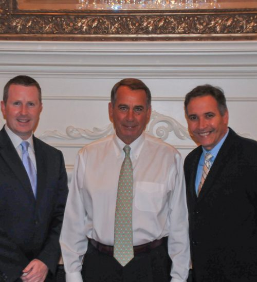 John Boehner, Congressman and Speaker of the United States House of Representatives at Wayne Hotel and Paramour