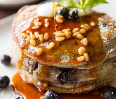 Blue Blueberry Pancakes