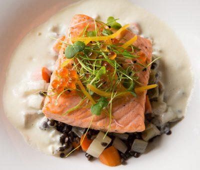 Slow-Roasted North Atlantic Salmon