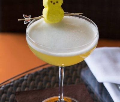 Peeptini Easter Cocktail
