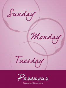 Sunday, Monday, Tuesday Supper & Wine Special at Paramour