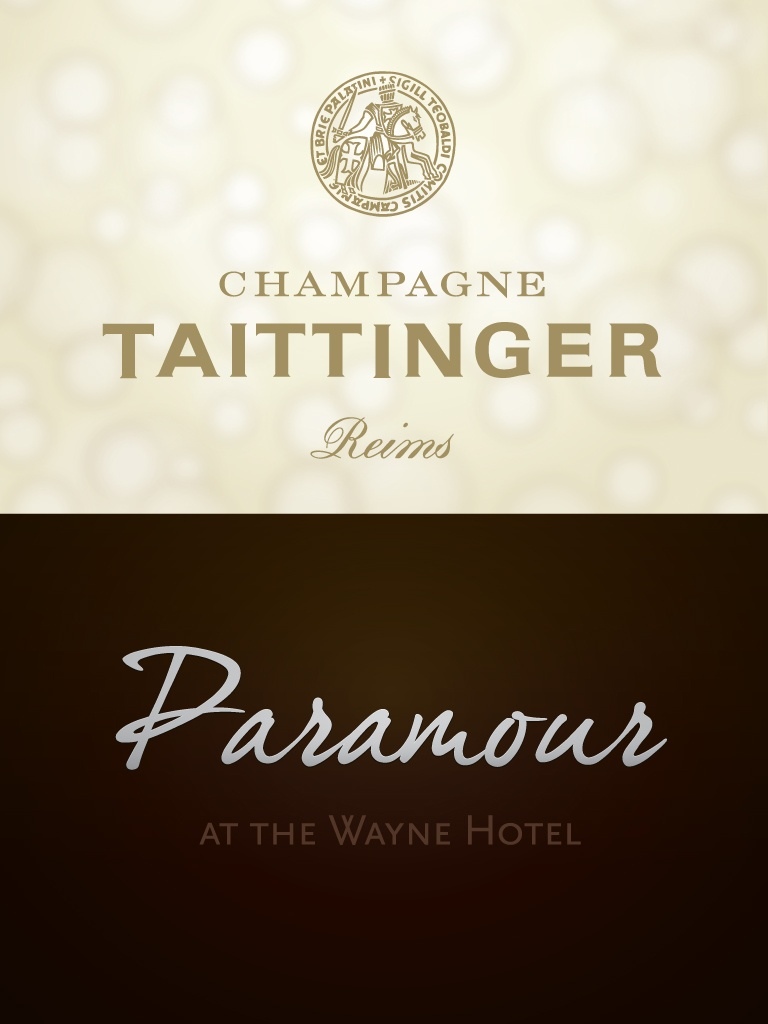 Taittinger Wine Dinner at Paramour