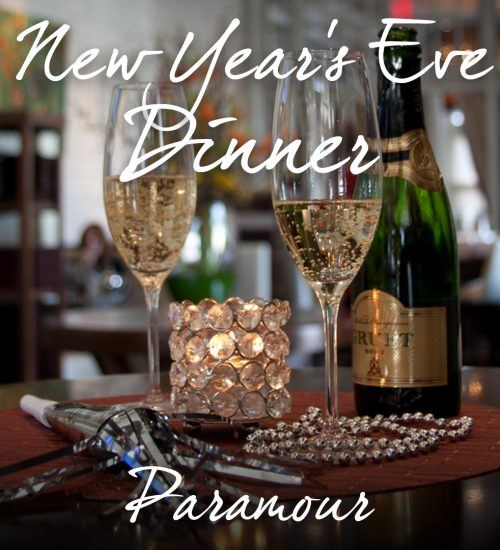 New Year's Eve Dinner at Paramour