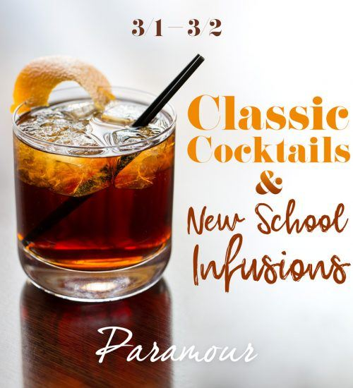 Bourbon Cocktail Tasting at Paramour